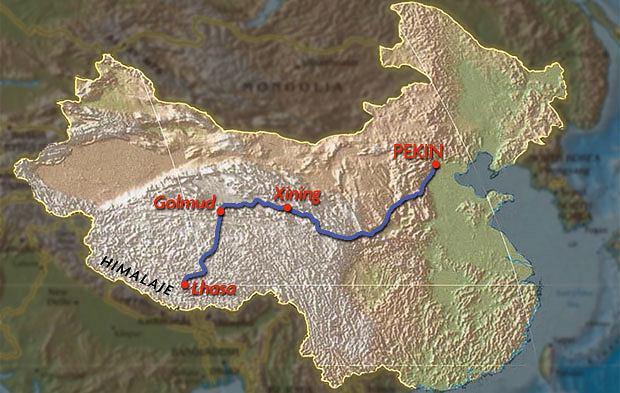 Podróż pociągiem z Pekinu do Tybetu, azja, podróże