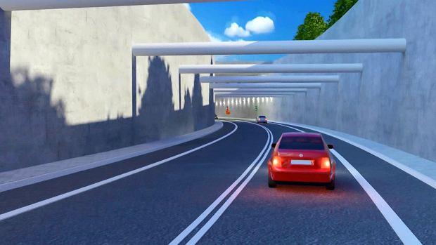 Wizualizacja tunelu
