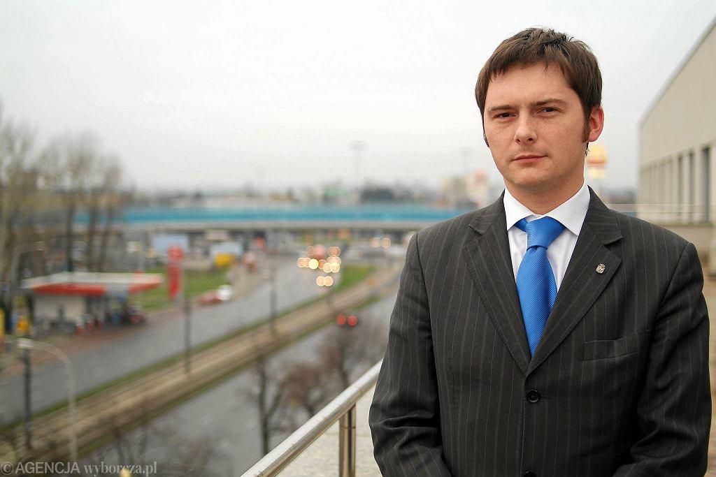 Michał Wąsowicz w 2006 r.