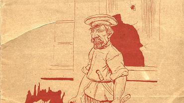 Gazeta 'Rabuś' o pogromie 1906 w Białymstoku