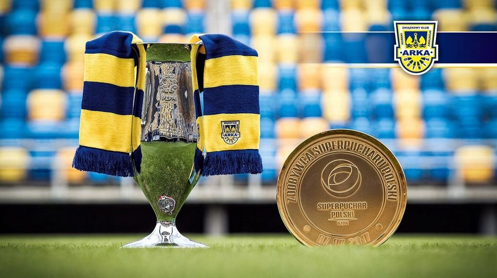 Puchar Polski i Superpuchar zdobyte przez Arkę Gdynia