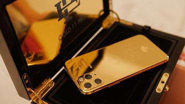 Złoty iPhone Escobara