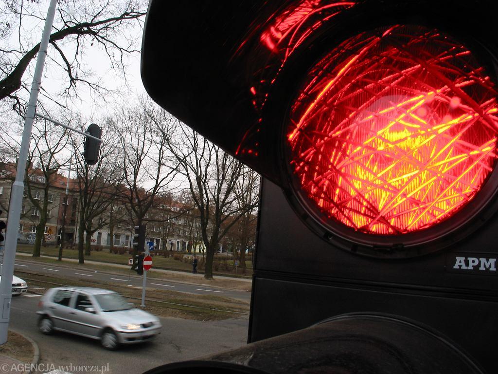 Sygnalizacja świetlna (zdjęcie ilustracyjne)