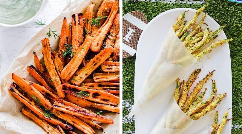 Ziemniaki to niejedyny materiał na frytki. Można je robić też np z buraków i cukinii