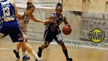 Basket Liga Kobiet: MKS MOS Konin - KSSSE AZS PWSZ Gorzów 58:83