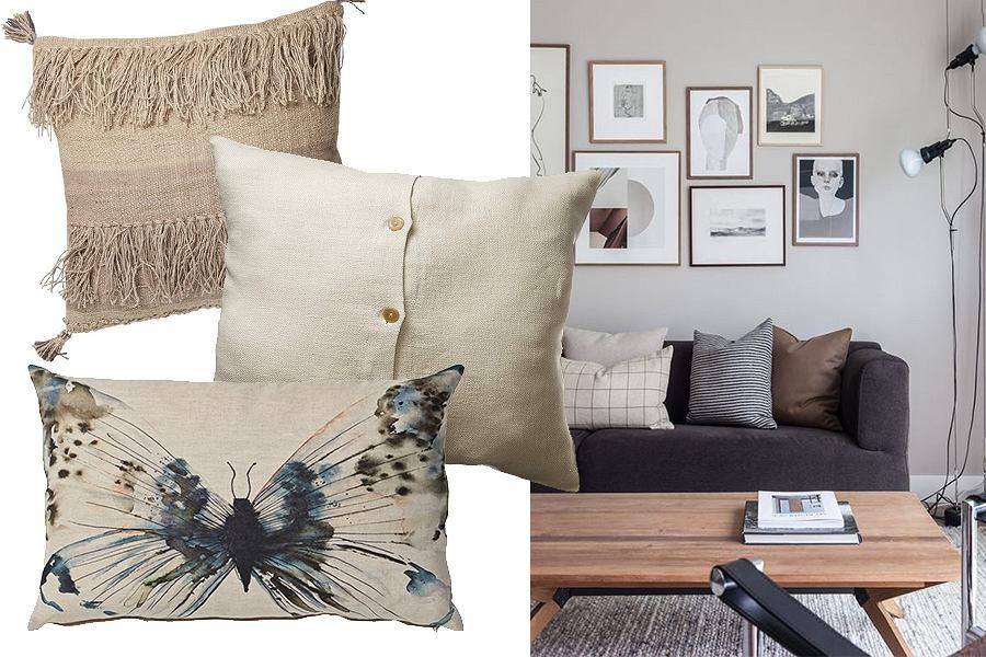 Poszewki na poduszki z lnu