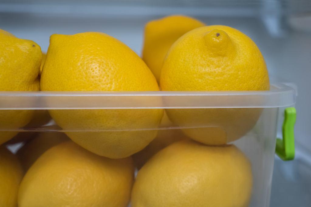 Cytryny w lodówce