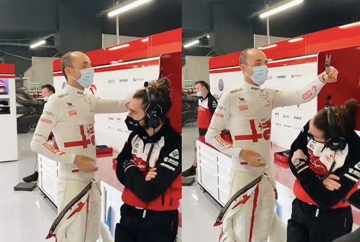 Robert Kubica w nowej formie. Źródło: Instagram / Alfa Romeo Racing Orlen