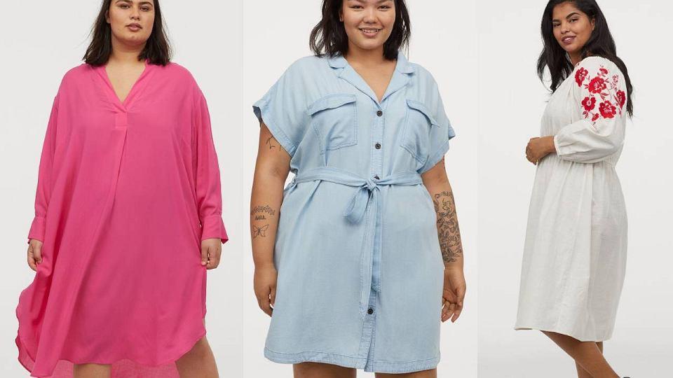 Sukienki dla puszystych H&M