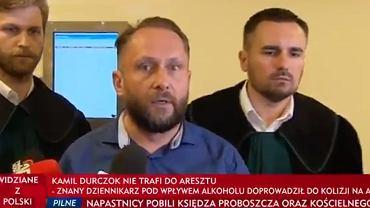 Kamil Durczok wydał oświadczenie po posiedzeniu aresztowym