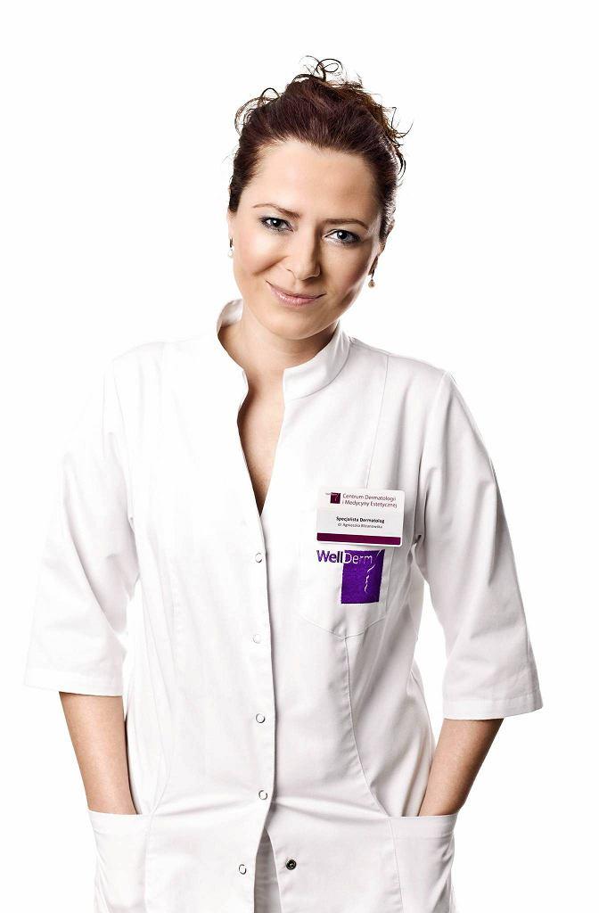 Agnieszka Bliżanowska - dermatolog i lekarz medycyny estetycznej. Założyła Centrum Dermatologii i Medycyny Estetycznej WellDerm w Warszawie i we Wrocławiu.