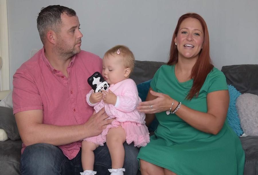 Frankie z rodzicami