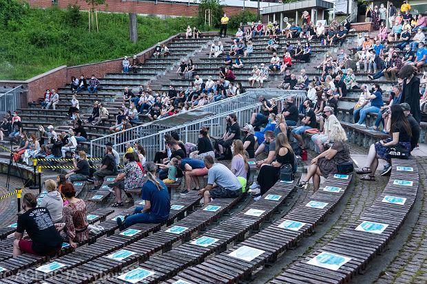 7 czerwca 2020 - koncert zespołu Shannon w olsztyńskim amfiteatrze. Pierwsza po lockdownie impreza plenerowa organizowana przez MOK