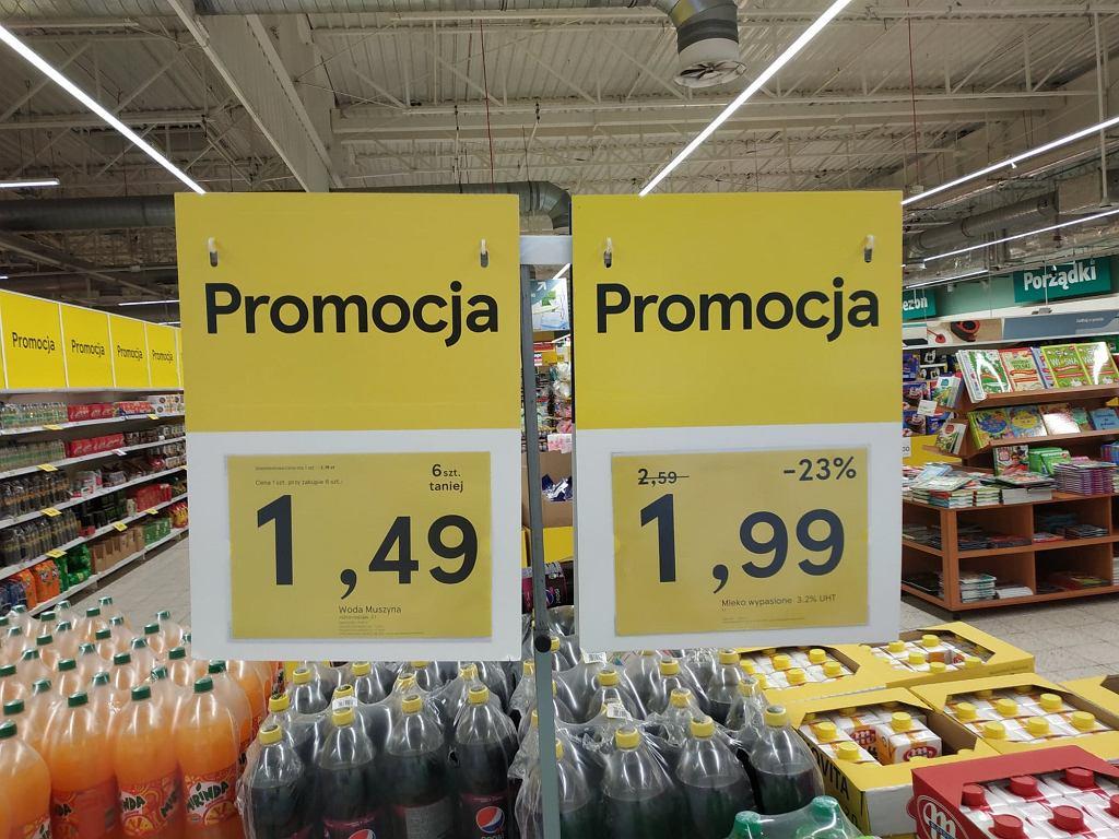 Promocja w sklepach Tesco