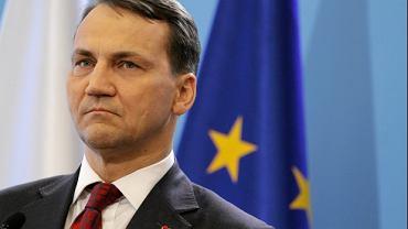 Minister Radosław Sikorski
