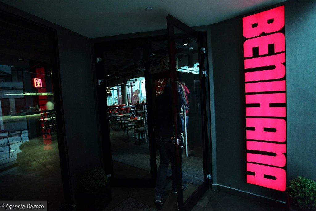 Restauracja Japońska - Benihana, Cosmopolitan Tower, ul Twarda 4 / SŁAWOMIR KAMIŃSKI