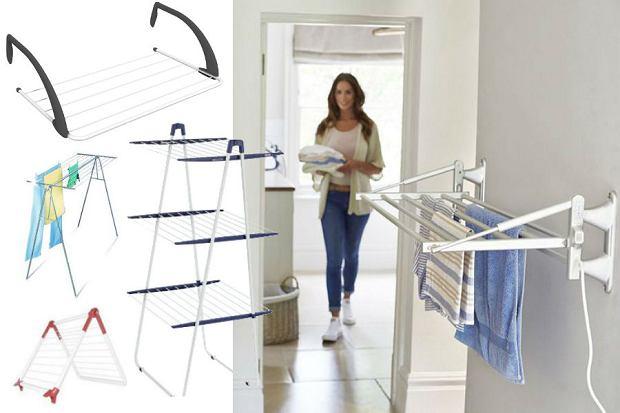 Praktyczne suszarki na pranie - MODELE