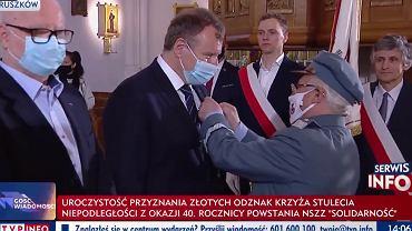 Jacek Kurski odznaczony Krzyżem Stulecia Niepodległości