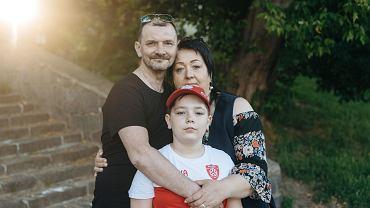 Dramatyczna ucieczka z Białorusi przed reżimem Łukaszenki. 11-letni Marcin zabrał tylko tablet i misia