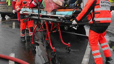 Akcja ratunkowa. Zdjęcie ilustracyjne