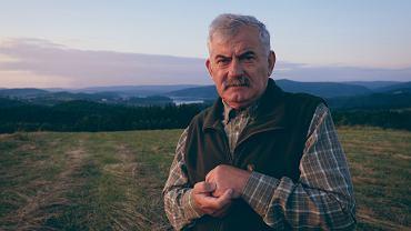 Kazimierz Nóżka, leśnik z Nadleśnictwa Baligród w Bieszczadach