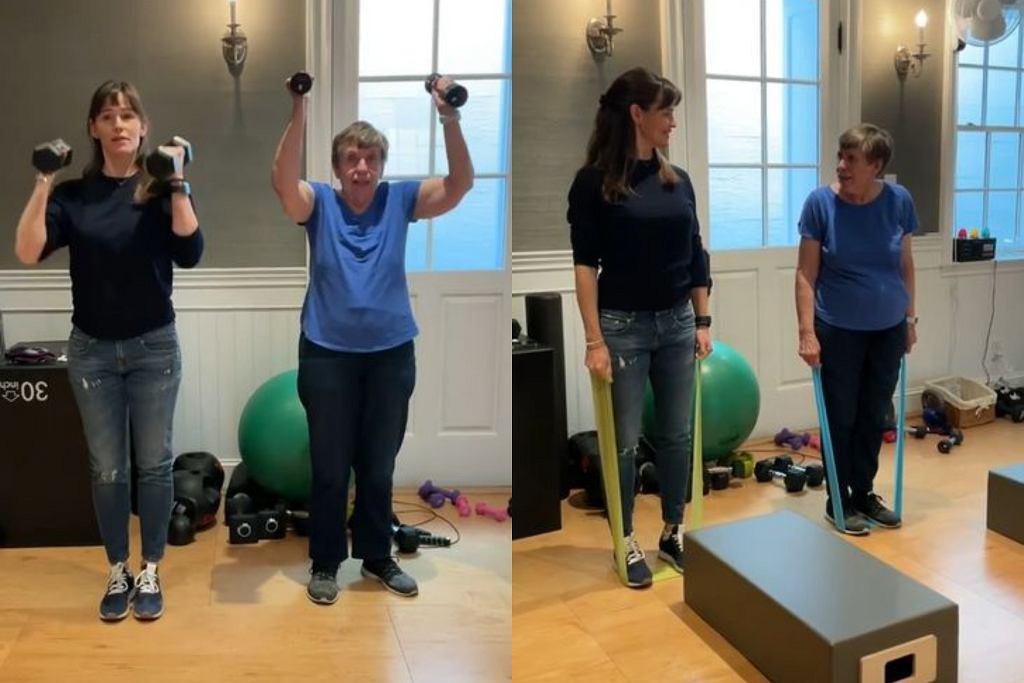 Jennifer Garner trenuje z 83-mamą