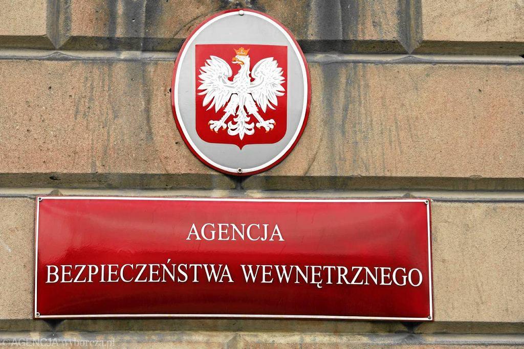 Siedziba ABW w Warszawie