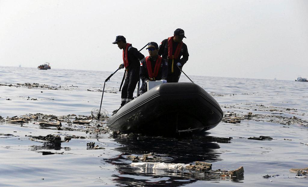 Akcja poszukiwawcza po katastrofie samolotu Lion Air