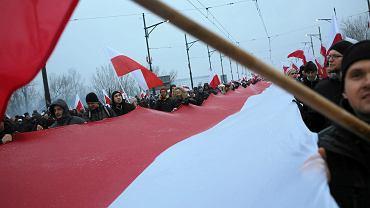 Marsz Niepodległości w Warszawie, 11.11.2016