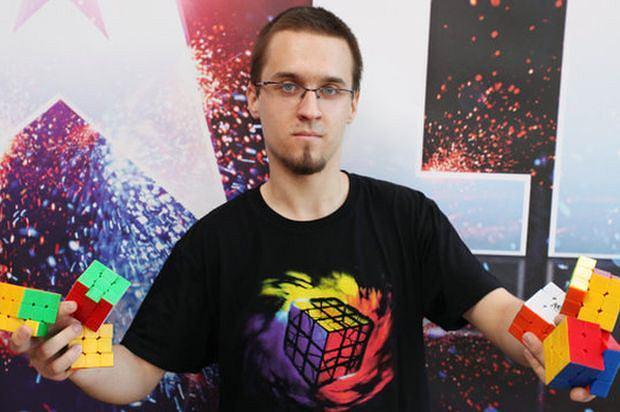 Marcin Kowalczyk na planie