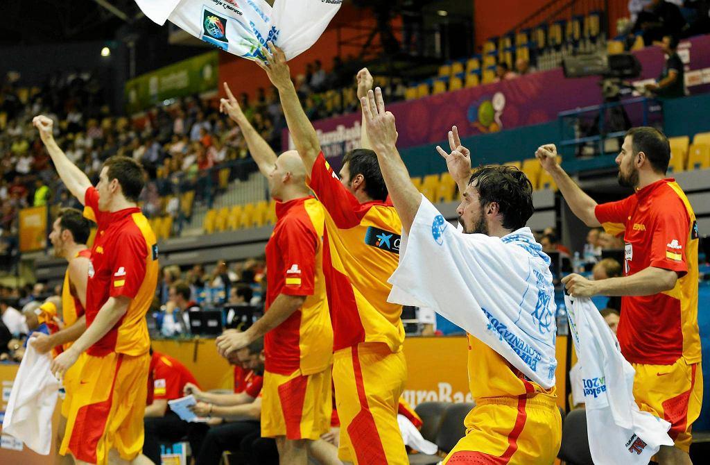 Hiszpania - Chorwacja 68:40