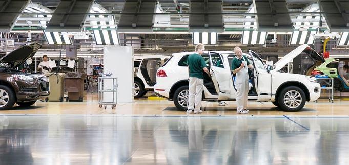 Fabryka VW na Słowacji