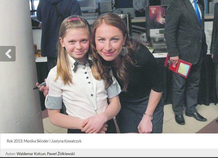 Monika Skinder i Justyna Kowalczyk