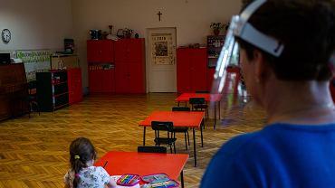 Przedszkole w dobie pandemii koronawirusa. Kraków, 20 maja 2020