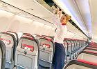 Latająca mama o pracy stewardessy podczas epidemii: Ludzie są zdystansowani. Nie czują się komfortowo, gdy obok siedzi inny pasażer