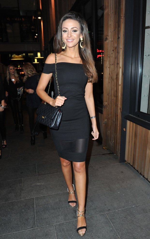 Picture Shows: Michelle Keegan October 10, 2014 Michelle Keegan spotted on a girls night out for a friends birthday at Manchester House in Manchester, UK. Non-Exclusive WORLDWIDE RIGHTS Pictures by : FameFlynet UK  2014 Tel : 44 (0)20 3551 5049 Email : infofameflynet.uk.com