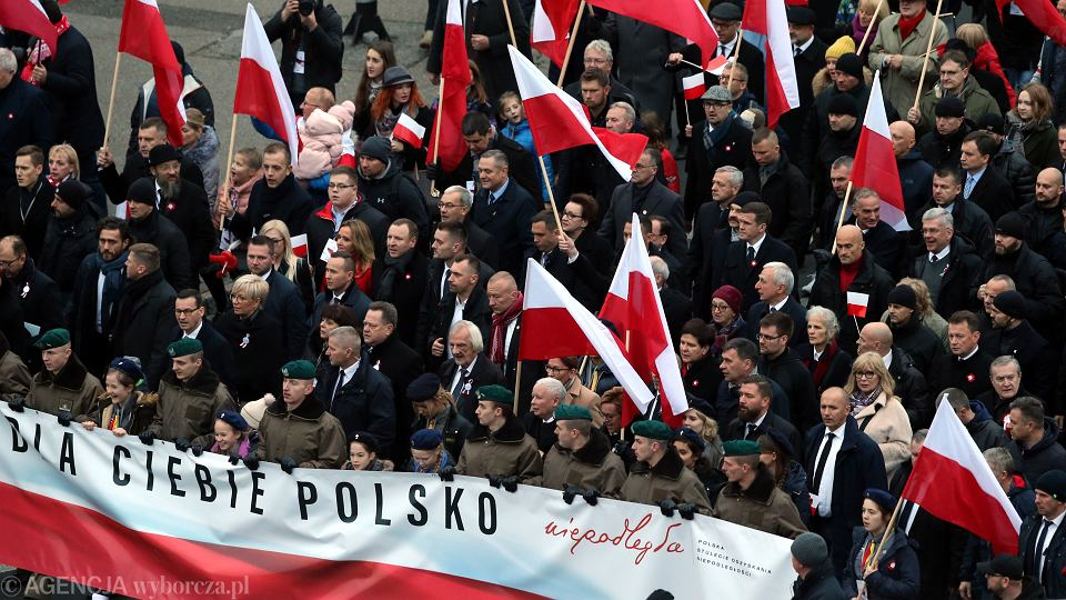 Marsz Niepodległości w Warszawie, 11.11.2018