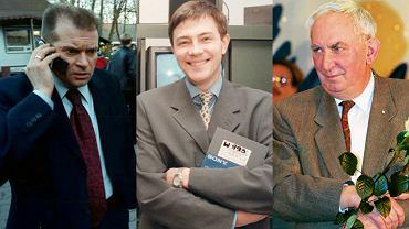 Krzysztof Rutkowski, Krzysztof Ibisz, Gustaw Holoubek