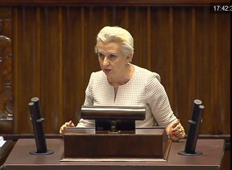 Elżbieta Gapińska (iTV Sejm)