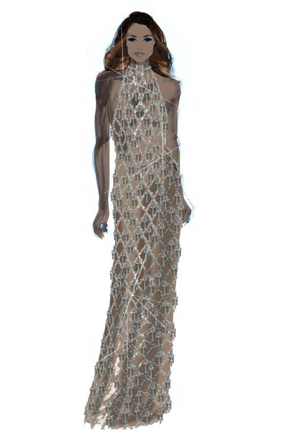 Ciara w sukni H&M - projekt na Met Gala 2016