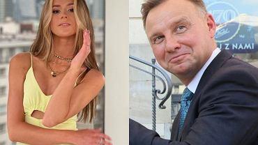 Andrzej Duda zareagował na zdjęcie Roksany Węgiel