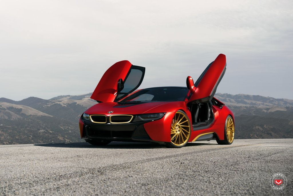 BMW i8 Iron Man