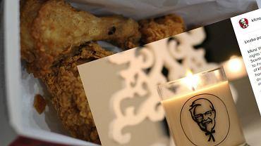 świeczka zapachowa KFC