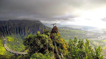 Turyści ryzykują grzywny i życie, żeby zdobyć szczyt Pu?u Keahi a Kahoe.