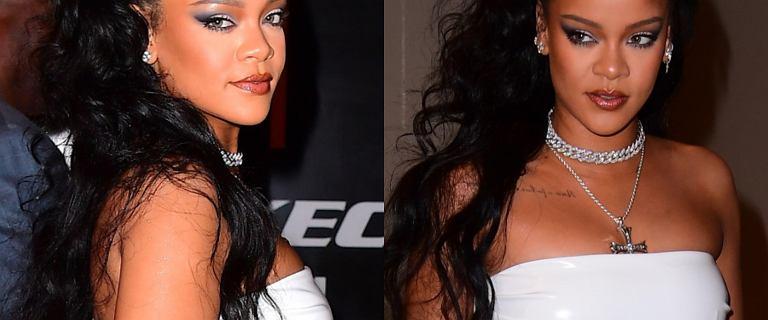 Rihanna zadała szyku w białej sukience i chyba zdradziła coś jeszcze. Cały świat patrzy na jej brzuszek
