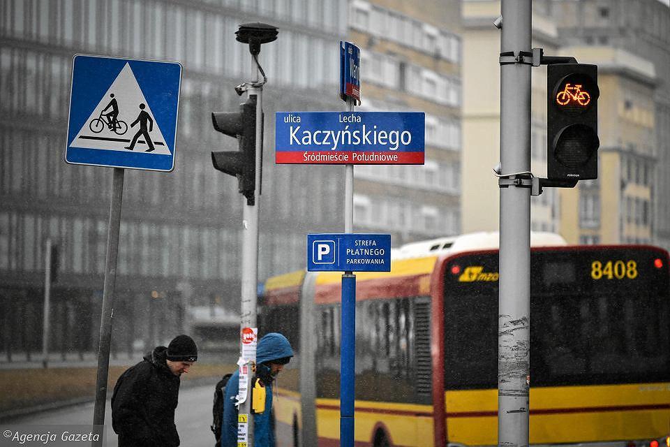 Ulica Lecha Kaczyńskiego zastępowała aleję Armii Ludowej
