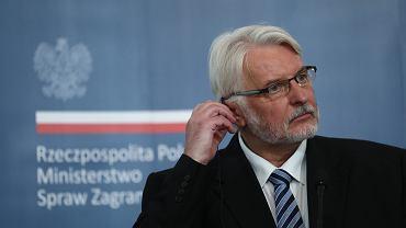 Europoseł PiS Witold Waszczykowski