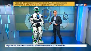 Robot, który jest człowiekiem