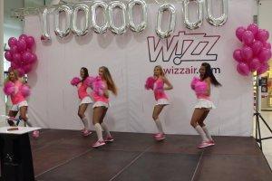 W Porcie Lotniczym Lublin świętowano przewiezienie 100 mln pasażera WizzAira