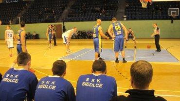 UTH Rosa - SKK Siedlce . I liga koszykarzy